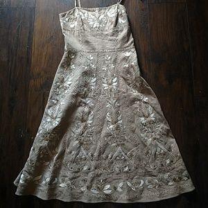 Antonio Melani embroidered dress size 4